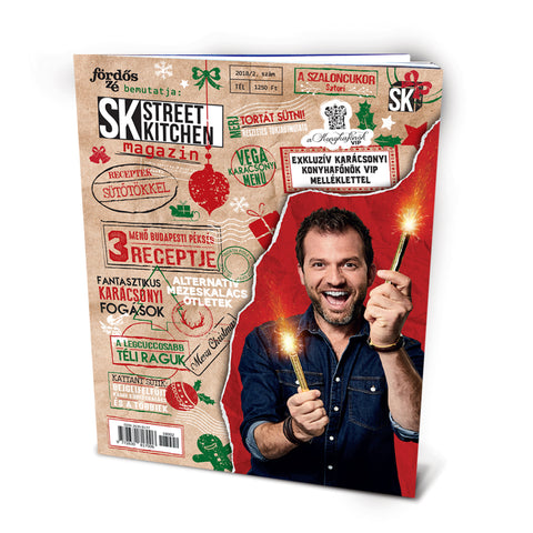 Street Kitchen magazin 2018/tél