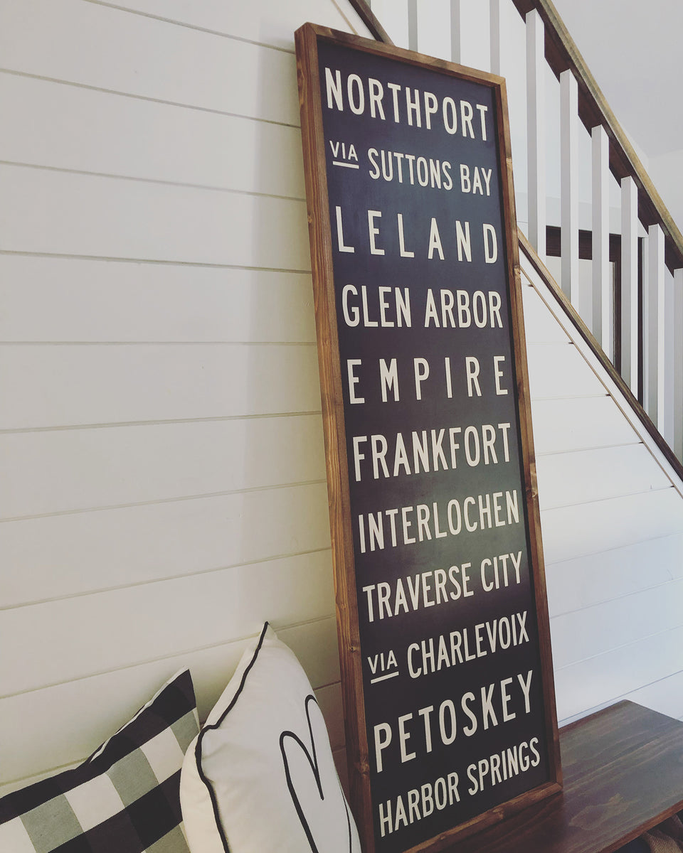 Custom Subway Signs & Wall Art
