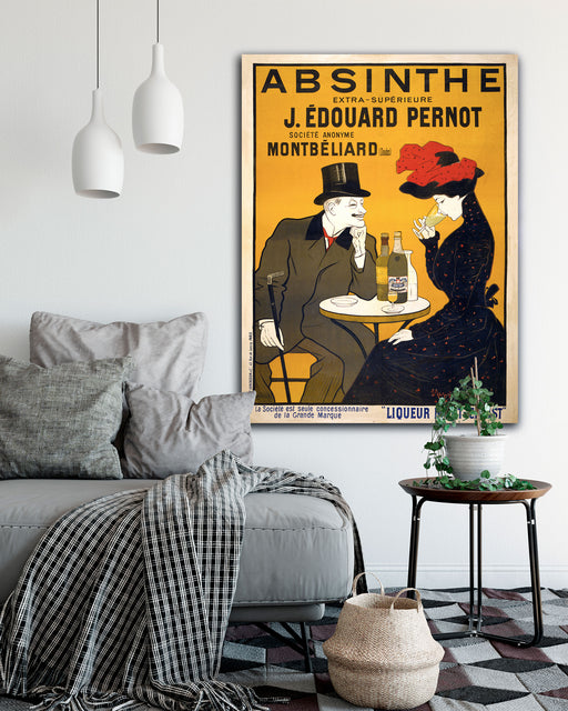 Oversized Vintage Leonetto Cappiello Posters on Canvas by Transit Design