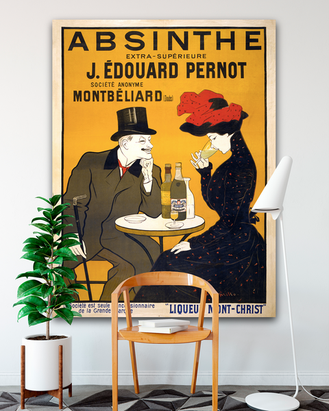 Vintage Advertising Poster by Transit Design