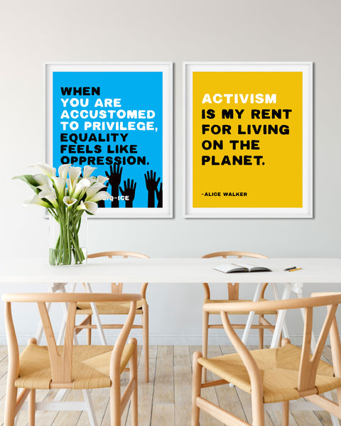 Demonstration Posters, Activist Posters, Anti-Racist Sayings by Transit Design.
