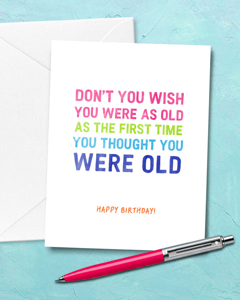 Funny Birthday Cards, Snarky Cards by Smirkantile.