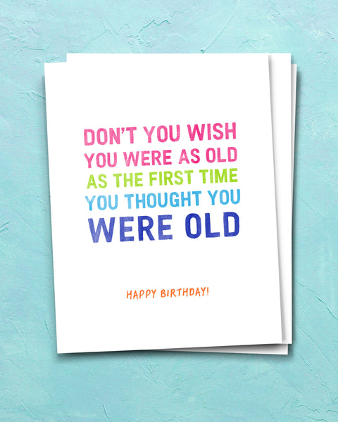 Snarky Birthday Cards by Smirkantile.