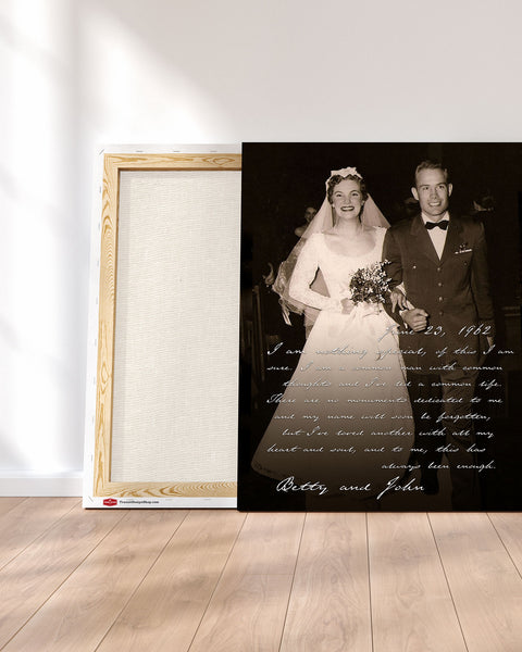 Stretched Photo Canvas Custom Photo Art by Transit Design