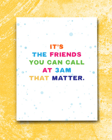 Card for Best Friend, Friendship Card by Smirkantile.