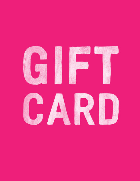 The Transit Design Gift Card