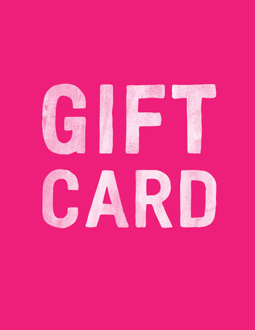Transit Design Gift Card