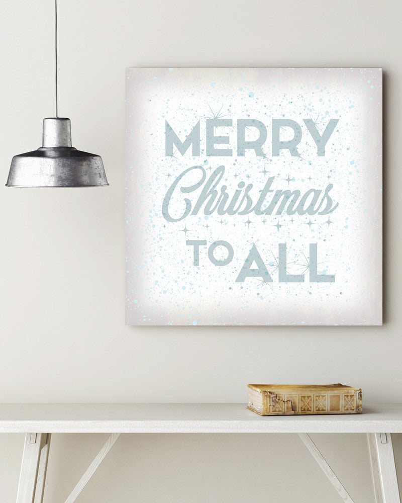 merry christmas sign wall art