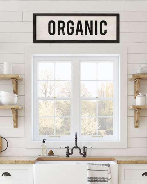 Decorative Kitchen Signs, Wall Signs, Organic Sign - Transit Design