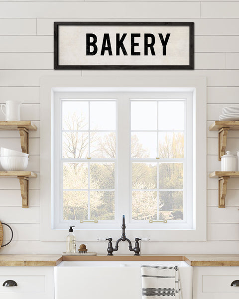 Bakery Sign, Country Wall Decor by Transit Design