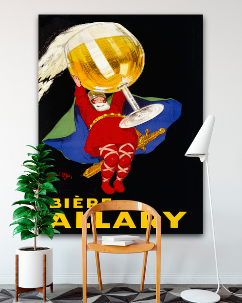 Biere Allary Poster. Leonetto Cappiello. Oversize Canvas by Transit Design.