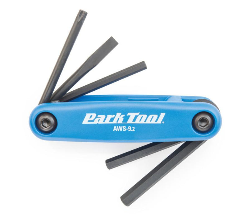 Park Tool - Fold-Up Hex Wrench Set AWS-9.2