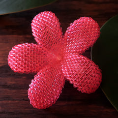 plumeria hair accessories
