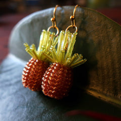 beaded pineapples