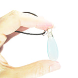 Heart in Hawaii Large Chalcedony Kahiko Pendant
