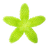 Heart in Hawaii Beaded Plumeria Flower - Lime Green