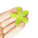 Heart in Hawaii Beaded Plumeria Flower - Lime Green - 3 sizes