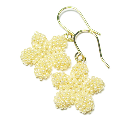 Heart in Hawaii Pua Kawaii - Tiny Plumeria Dangles in Ivory