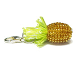 Heart in Hawaii Tiny Beaded Pineapple Charm