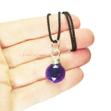 Heart in Hawaii Kahiko Pendant - Purple Chalcedony