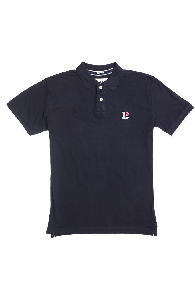 "POLO SHIRT LEMKE BERLIN ""LB"" / HERREN / NAVY"