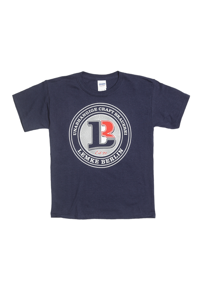 T-SHIRT LEMKE BERLIN LOGO / KINDER / NAVY