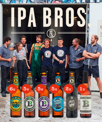 IPA BROS. / 24-MIX-PAKET (24 x 0,33L)