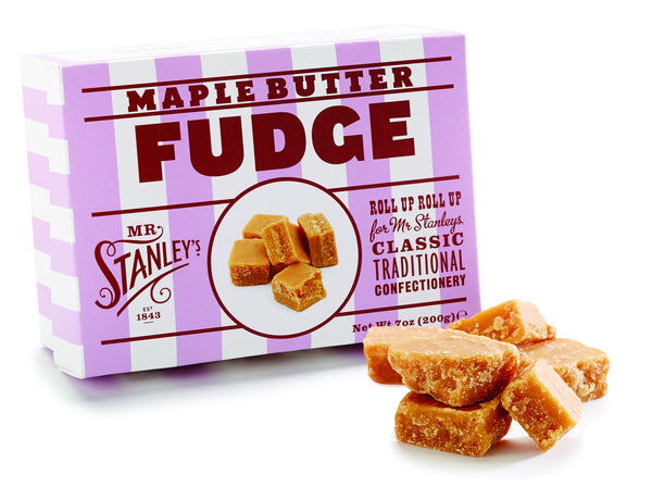 Maple butter fudge