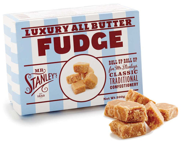 Luxury all butter fudge, sure to satisfy