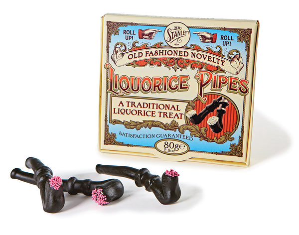 Delicious liquorice pipes