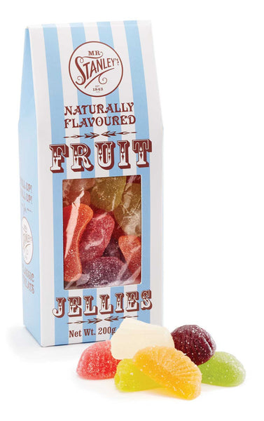 Delicious fruit jellies in a classy box