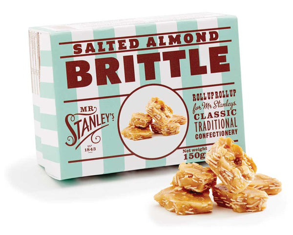 Salted Almond Brittle