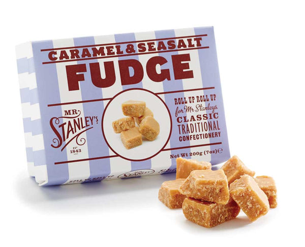 Salted caramel fudge, bringing a modern twist to a classic sweet