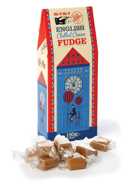 Tasty clotted cream fudge