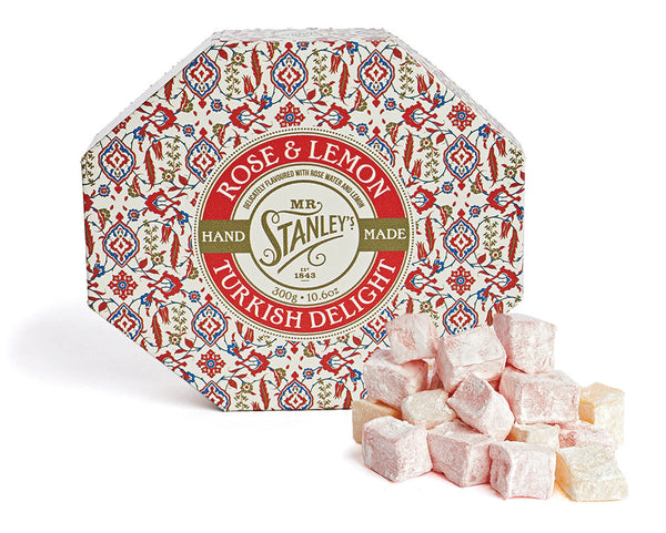 Rose & Lemon Turkish Delight
