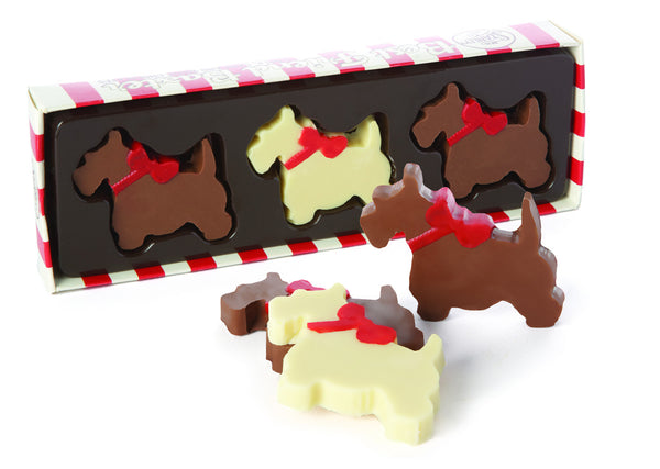 Chocolate Scotty Dogs