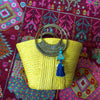 Yellow Bag with Eleuthra Tassel