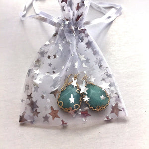 amazonite jewelry gift bag beach glam