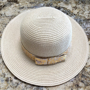 Gold Summer Hats Beach Glam