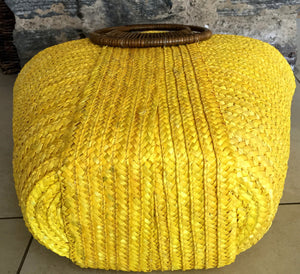 yellow beach bags