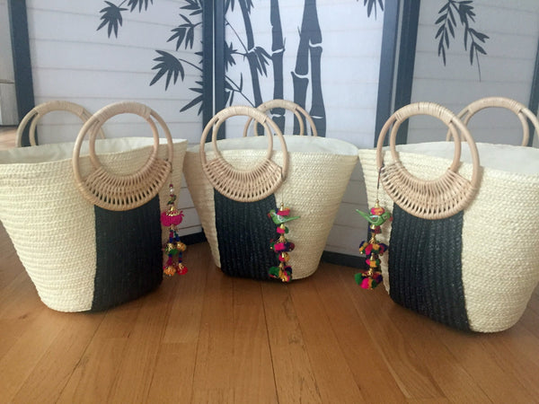 tropical bridesmaid gift bag