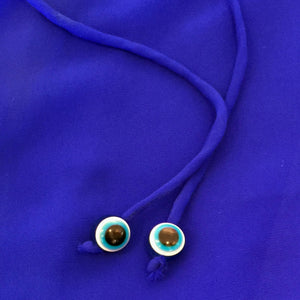 evil eye detail beach kaftan