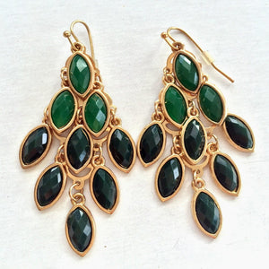 emerald green gold jewelry