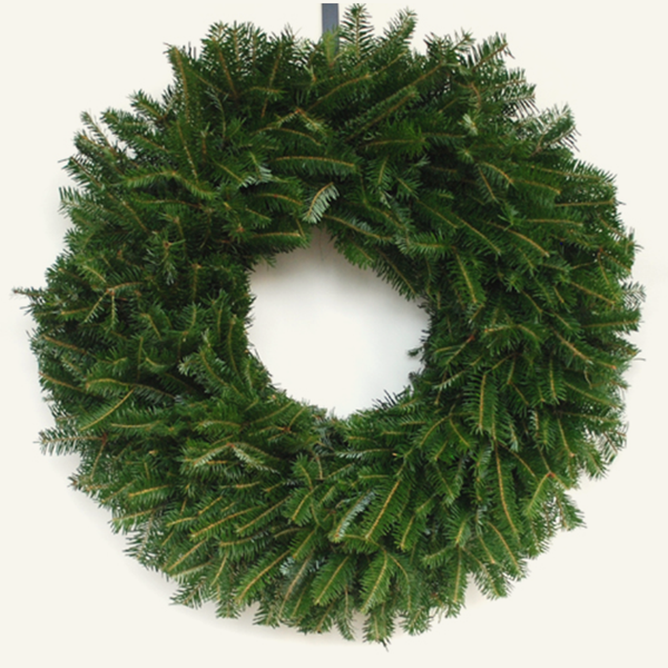 Your wreath comes undecorated like the picture above, but there are several ways you can decorate your wreath to be hung on your door, or anywhere else! <p><p>
