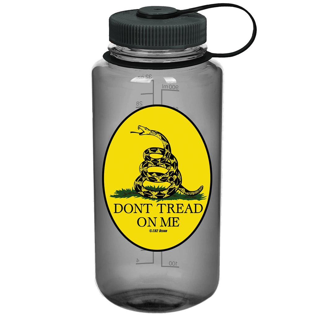 Don't Tread On Me 7.62 Design 32oz Nalgene 501 Bottle Smoke- 7.62 Design