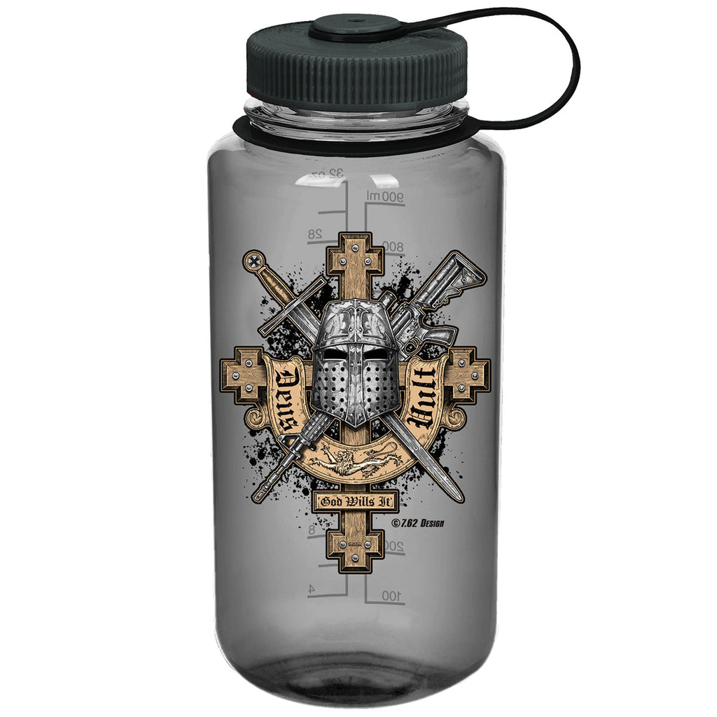 Deus Vult 7.62 Design 32oz Nalgene 501 Bottle Smoke- 7.62 Design