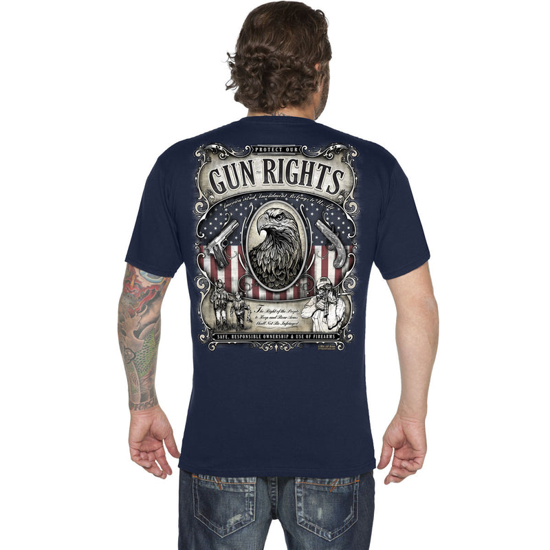 'Gun Rights' 7.62 Design Premium Men's T-Shirt- 7.62 Design