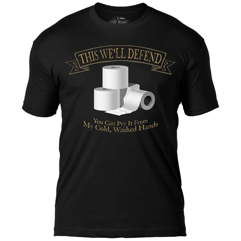 This We'll Defend 7.62 Design Men's T-Shirt Black- 7.62 Design