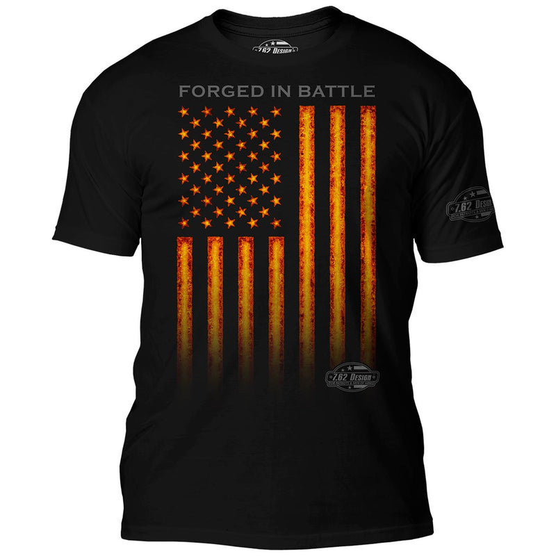 'Forged In Battle' 7.62 Design Premium Men's T-Shirt- 7.62 Design