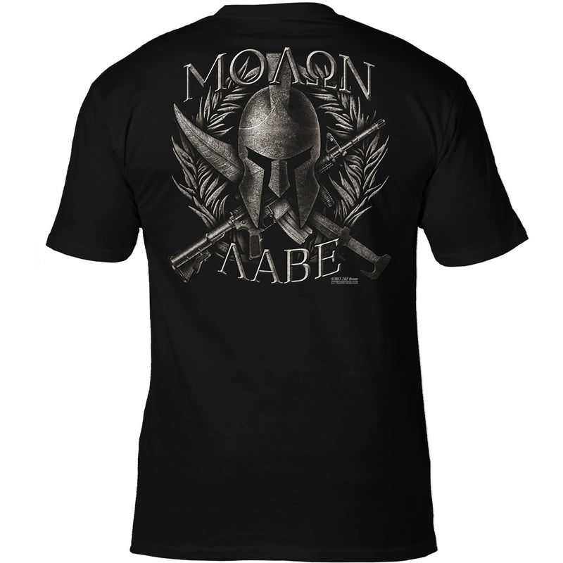 'Molon Labe' 7.62 Design Premium Men's Patriotic T-Shirt- 7.62 Design